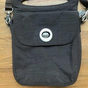 Brown Baggallini cross body purse